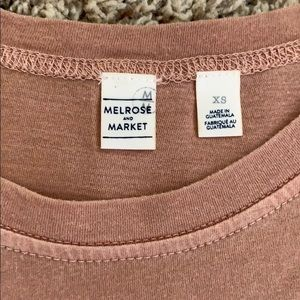 Melrose and Market Tops - Tan Short Sleeve Tee from Nordstrom Rack